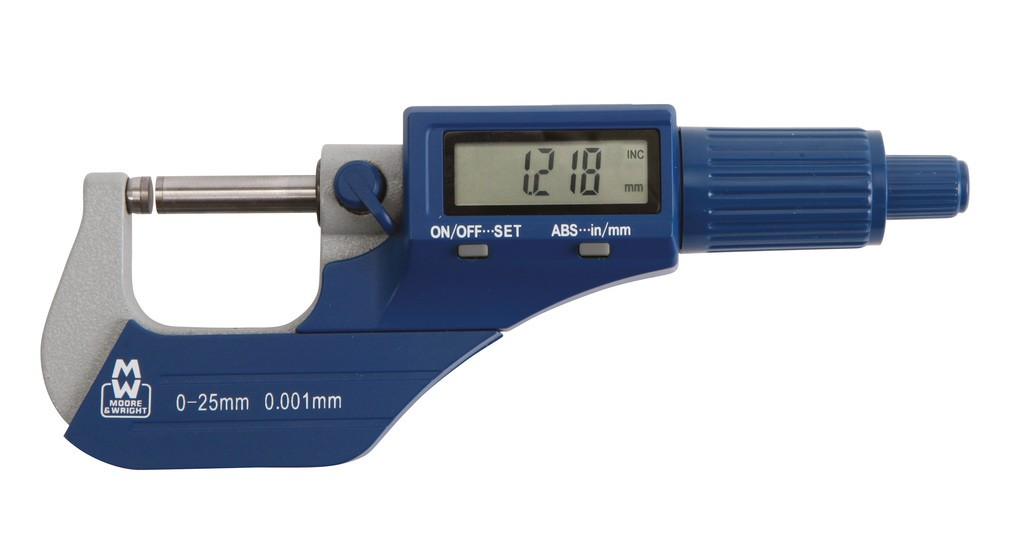 Value Line Digital External Micrometer 200 Series
